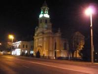 Kapuvár Szent Anna templom és a Fő tér